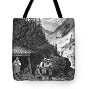Colorado: Mining, 1874 Tote Bag by Granger