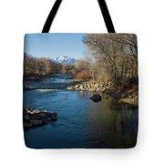 Colorado Mountain Stream Tote Bag
