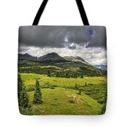 Colorado Mountains After Summer Rain Tote Bag