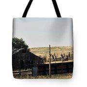 Colorado Past And Present Tote Bag