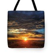 Colorado Plains Sunset Tote Bag