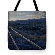 Colorado Railroad Crossing Tote Bag
