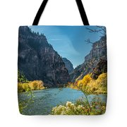 Colorado River And Glenwood Canyon Tote Bag by Jemmy Archer