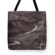 Colorado River At Desert View Grand Canyon Tote Bag