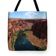 Colorado River At Glen Canyon Dam Tote Bag