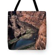 Colorado River Horseshoe Bend Color  Tote Bag