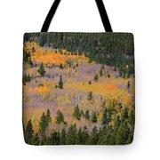 Colorado Rocky Mountains Autumn Colors Tote Bag