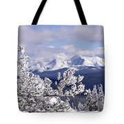 Colorado Sawatch Mountain Range Tote Bag