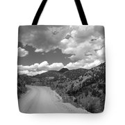 Colorado Shelf Road 1 B-w Tote Bag