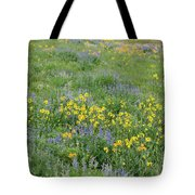 Colorado Summer Color Tote Bag