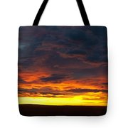 Colorado Sunrise February Tote Bag