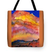 Colorado Sunset Tote Bag