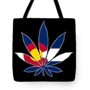 Colorado Weed Leaf Tote Bag