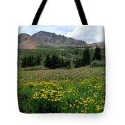 Colorado Wildflower Spectrum Tote Bag
