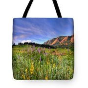 Colorado Wildflowers Tote Bag by Scott Mahon