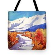 Colorado Winter 2 Tote Bag