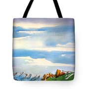 Colorado Winter 7 Tote Bag
