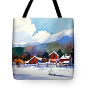 Colorado Winter 8 Tote Bag