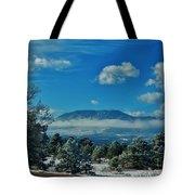 Colorado Winter Tote Bag