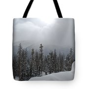 Colorado Winter Peace Tote Bag