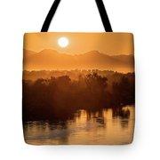 Coloradoriversunrise-yuma Tote Bag