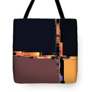 Colorchart Abstract Tote Bag