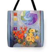 Colordance Of Summer Tote Bag