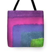 Colored Borders Tote Bag