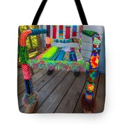 Colored Chair Tote Bag