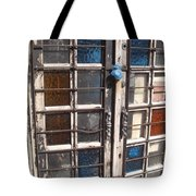Colored Door Tote Bag