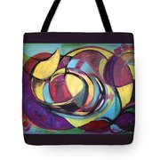 Colored Emotions Tote Bag
