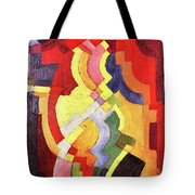 Colored Forms IIi By August Macke Tote Bag