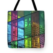 Colored Glass 10 Tote Bag