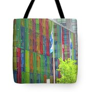 Colored Glass 12 Tote Bag