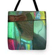 Colored Glass 14 Tote Bag