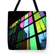 Colored Glass 3 Tote Bag