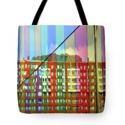 Colored Glass 6 Tote Bag