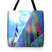 Colored Glass 7 Tote Bag
