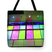 Colored Glass 8 Tote Bag