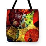 Colored Glass Art Tote Bag