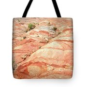 Colored Hill In Valley Of Fire Tote Bag