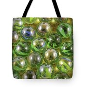 Colored Marbles Tote Bag