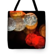 Colored Moons 1 Tote Bag