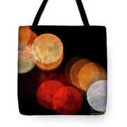 Colored Moons 3 Tote Bag