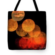 Colored Moons 4 Tote Bag