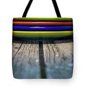 Colored Plates 5 Tote Bag