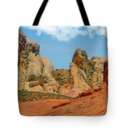 Colored Sandstones Valley Of Fire Tote Bag