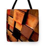 Colored Squares Tote Bag