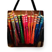 Colored Whisks Tote Bag