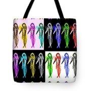 Colorfishpadron Tote Bag